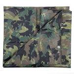 afdek zeil camouflage 5m x 4m