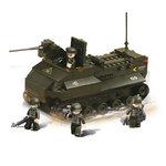 Pantser voertuig amfibie leger speelgoed Sluban