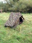 pup tent camouflage defensie