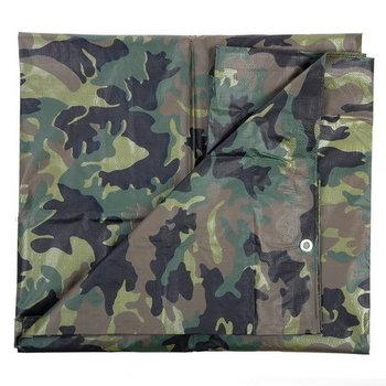 Afdek zeil camouflage 3,8m x 3m