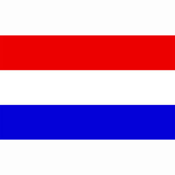 Nederlandse vlag / Holland rood wit blauw