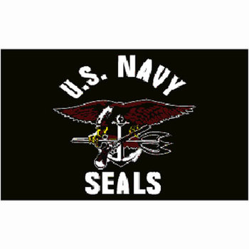 Navy Seals vlag US
