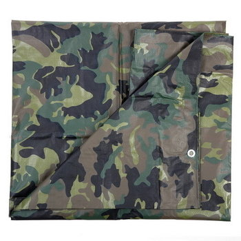 Afdek zeil camouflage 5m x 2,85m