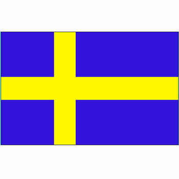 Zweedse vlag, vlag Zweden