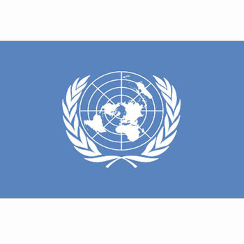 UN United Nations vlag