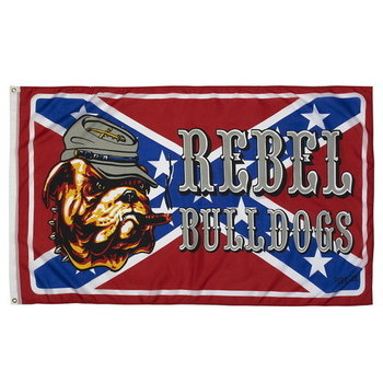 Rebel Bulldog vlag