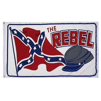 Rebel with cap vlag
