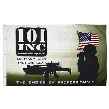 101 inc militair vlag, leger vlag