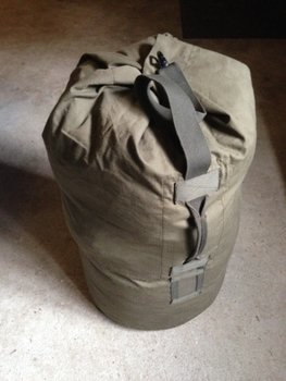 plunjebaal leger / defensie groen