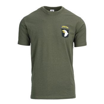 T-shirt leger airborne groen
