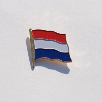 Embleem Nederlandse vlag met pin 7072