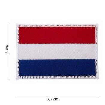 Embleem Patch Nederlandse vlag stof Holland 1026