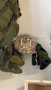 2e keus Commando rugzak leger camouflage DESERT 40 liter