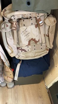 2e keus met tekst Commando rugzak leger camouflage DESERT 40 liter