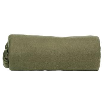Lichtgewicht slaapzak fleece groen