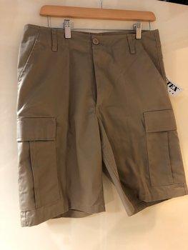 Korte broek BDU Khaki aanbieding laatste exemplaren!
