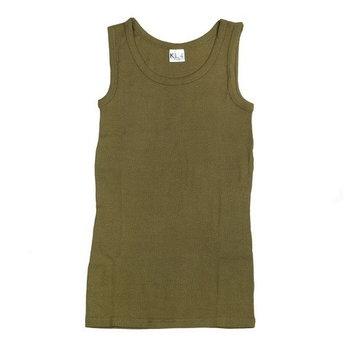 leger singlet hemd groen of zwart