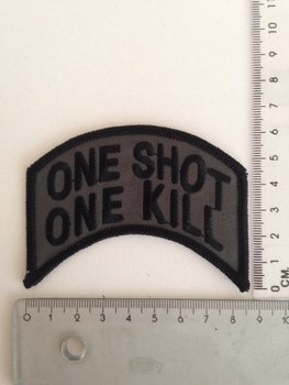 Patch embleem one shot one kill