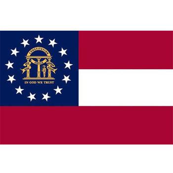USA Georgia vlag