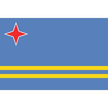 Arubaanse vlag Aruba