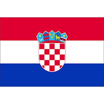 Kroatische vlag Kroatië