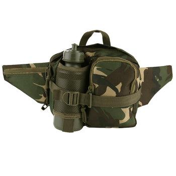 Heuptas leger camouflage met bidon / veldfles