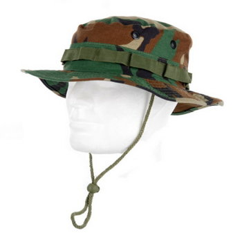 Bush hat / leger hoed camouflage deluxe