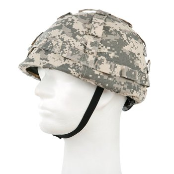 Helm kids / kinder helm ACU camouflage / leger