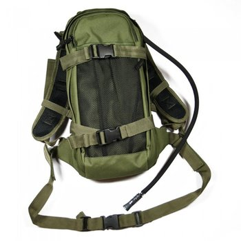 Camel bag, water rugzak groen of zwart