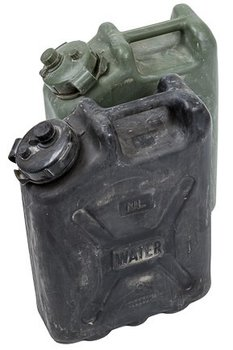 leger water jerrycan 20 liter gebruikt