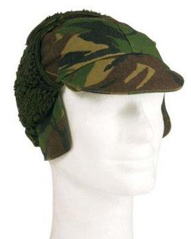 Winter leger muts camouflage gebruikt