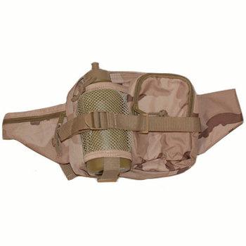 Leger veldfles bidon met heuptas DESERT camouflage