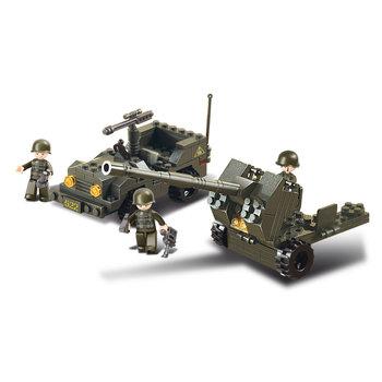 Lucht afweer geschut leger speelgoed Sluban B5900