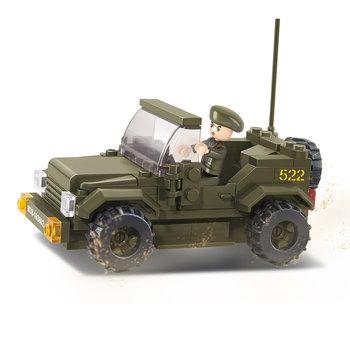 Jeep terrein wagen leger speelgoed Sluban B0296 style 2