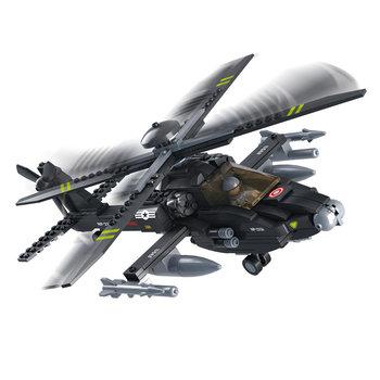 Apache helikopter van het leger speelgoed Sluban B0511