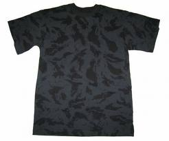 night camouflage t-shirt