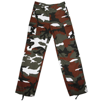 Red hot leger camouflage broek