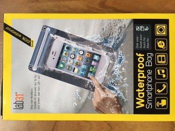 Smartphone waterproof zak 16 cm x 9.5 cm