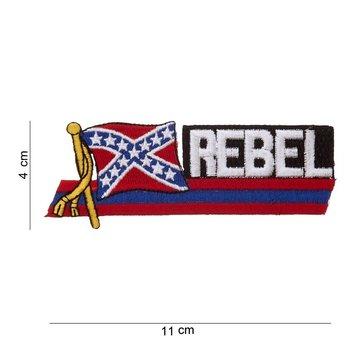 Rebel embleem patch van stof art. nr. 1042