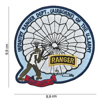 Ranger Infantry Airborne patch embleem van stof art. nr. 3025