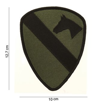 Cavallerie patch embleem van stof art. nr. 3061