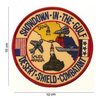 Desert Shield Combatant patch embleem van stof art. nr. 3070