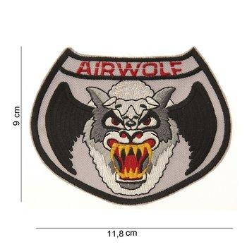 Airwolf patch embleem van stof art. nr. 4026
