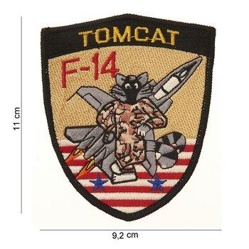 F-14 Tomcat patch embleem van stof art. nr. 4050