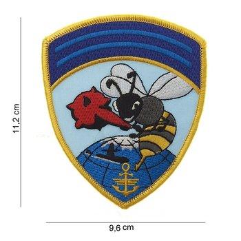 Hornet Navy patch embleem van stof art. nr. 5044