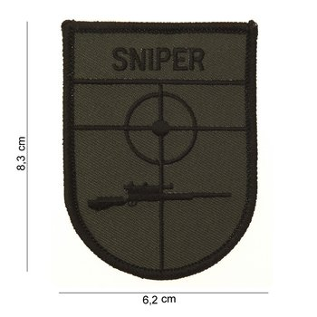 Sniper Patch embleem art no 3007