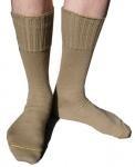 Wollen leger sokken gebruikt uit het leger