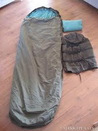 M 90 leger slaapzak KLU ZELDZAAM incl goretex hoes nieuwe type slaapzak defensie gebruikt