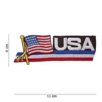 USA embleem patch van stof art. nr. 1041