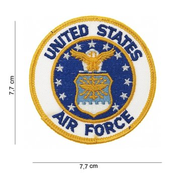 United States Air Force embleem patch van stof art. nr. 3011